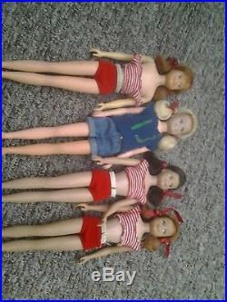 Job lot of 25 Vintage barbi skipper dolls some japan rare loft find 25 dolls