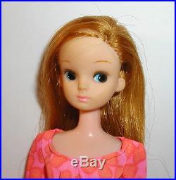 LADY LICCA CHAN DOLL Vintage 1970s JAPAN 10 LONG HAIR Beautiful RARE
