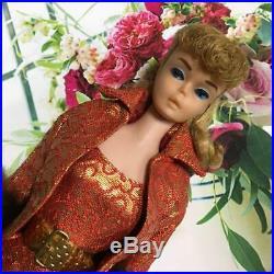 MATTEL 1963 Vintage Barbie Doll Ponytail Rare From JAPAN