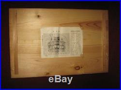 MEIJI Japanese Vintage Hina Goten Castle Miniature Doll House withOriginal Crate