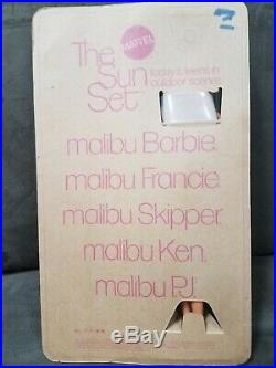 MIB Vintage 1970's BARBIE'S The Sun Set MALIBU P. J. Doll #1187 TNT