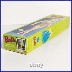 MIB boxed 1960s #1190 Mattel Barbie doll Standard LT. Brown