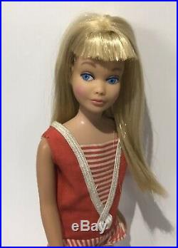 MINTY Straight Leg Skipper Doll Blonde/LEMON + Original Suit & Shoes #950