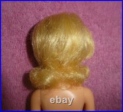 MOD Era Blonde No Bangs Francie Doll in Peggy Von Plasty Dress