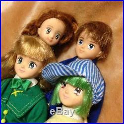 Marmalade Boy Anime Vintage Doll Figure 4 Body Set Bandai Anime Japan F/S