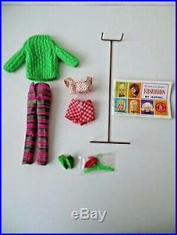 Mattel cousine Barbie Francie 1140 /1210 vintage 1965 Japan maillot de bain doll
