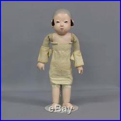 Meiji era Taisho era made by Iwase Ichimatsu doll 43cm Cuddle Doll Vintage Japan