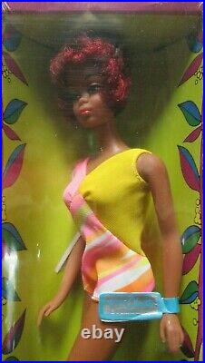 Nib1966 Japanblack Barbiechristie Dolltntmint#1119osstagrare+unopened