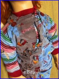 Novelty Life-size super real Chucky doll Vintage Retro toy F/Shipping from Japan