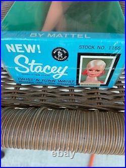 Nrfb Vintage 1967 Mattel Twist N Turn Blonde Flip Stacey Doll #1165 Nrfb, New