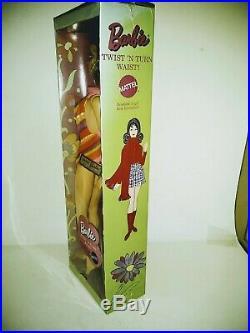 Nrfb Vintage Brunette Marlo Flip Twist'n Turn Tnt Barbie Doll Mod 1160 Japan