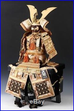 Old Vintage Japanese Samurai Figure Doll -Uehara Gyokuho Product