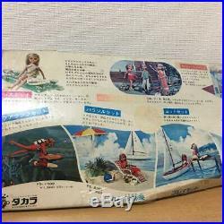Original Licca chan Doll Aqua Rung Set 1st Generation Vintage Rare TAKARA JAPAN