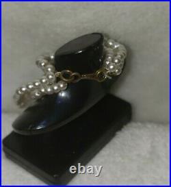 Original Vintage Barbie Mood for Music #940 Pearl Drop Necklace Choker VHTF