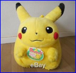 Pokemon Pikachu Tomy Plush 1/1 Life Size Doll Figure Japan Vintage Rare Tag