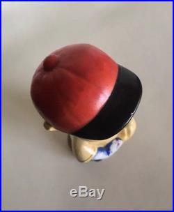 RARE 1940s BOBBLEHEAD NODDER Japan BASEBALL DOLL MLB 7 SCARCE Vintage Antique