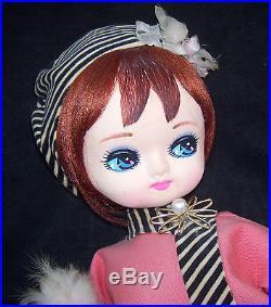 RARE Vintage DDD Tagged Big Eye Mod 17 Dream Doll by Dakin Dog 1960's Japan