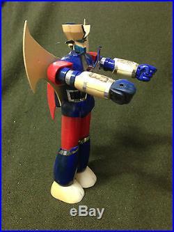 RARE! Vintage Korea KO Mazinger Z 10 Plastic Toy Figure Doll Model Japan Anime