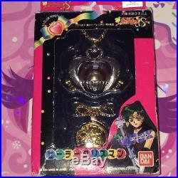RARE Vintage Sailor Moon Anime/Manga Pluto Doll Cosplay Talisman Necklace Japan