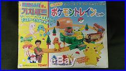 RARE Vintage TOMY POKEMON TRAIN Pocket Monster JAPAN TOY FIGURE MODEL DOLL