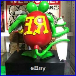 RAT FINK figure Used Surf All Day Race All Night Limited Rare Vintage Doll Japan