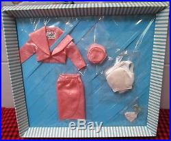 Rare 1963 Barbie Orig. Japan Vtgpink Satin Sparkling Set1011mintglitter Heels
