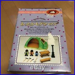 Rare Sylvanian Families Calico Critters Mole House Doll Set Vintage Epoch Japan