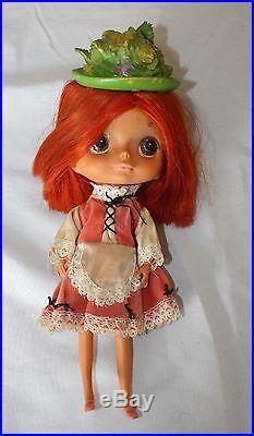 Rare Vintage 1948 Kamar Japan Big Eyes GIGI Jones Doll