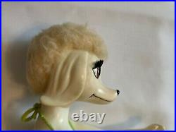 Rare Vintage Japan 1966 Peteena The Poodle In A Bikini 9 Inch Doll Gc