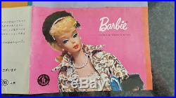 Rare Vintage Japan Japanese Market Barbie Booklet Ephemera Early 60s with Kimono