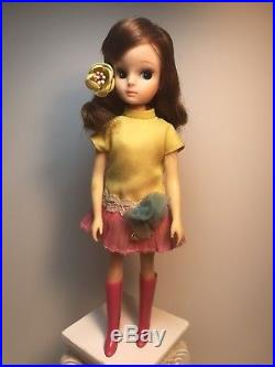 Rare Vintage Takara Japan Licca Rika Chan 1st Gen Fashion Doll Belly Button Body