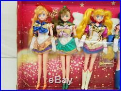 Sailor Moon Collection DX Deluxe Doll Set Vintage Bandai Anime Figure Japan