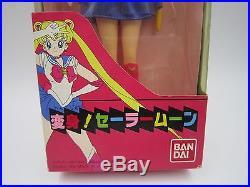 Sailor Moon Henshin! Usagi Tsukino Soft Vinyl Figure Doll Bandai Japan Vintage