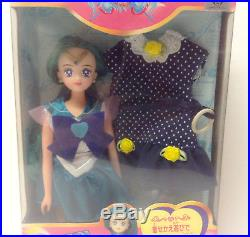 Sailor Moon Neptune Beauty Change Doll Vintage Rare Bandai Japan 1994