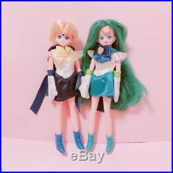 Sailor Moon sailor Uranus Neptune set doll vintage Rare item from JAPAN F/S
