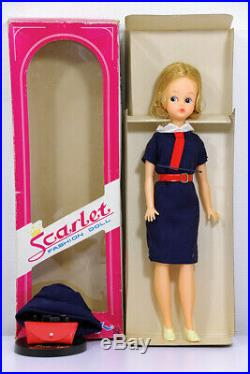 Scarlet chan Stewardess Cabin attendant Tammy Nakajima 60's Vintage Doll Japan