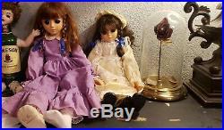 Sekiguchi Printemps Dolls Vintage Rare 1970's Spooky Eyes 23 18 made in Japan