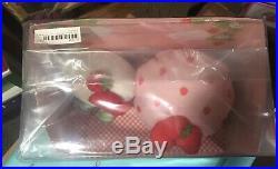 Strawberry Shortcake RARE Sanrio Hello kitty Japan MIP LARGE Plush Set 2017 MIB