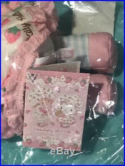 Strawberry Shortcake RARE Sanrio Hello kitty Japan MIP Plush 2017