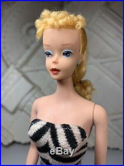 Stunning Japan Mattel Vintage Teenage Fashion Model Ponytail #3/4 Barbie Doll