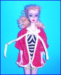 Stunning Vintage 1959 Pale Blonde # 1 Ponytail Barbie TM Model 850 Japan