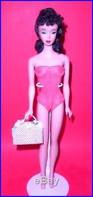 Stunning Vintage 1960 Brunette # 4 Ponytail Barbie Model 850 Japan Mint