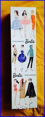 Stunning Vintage 1961 # 5 Titian Redhead Ponytail Barbie Model 850 Japan MIB