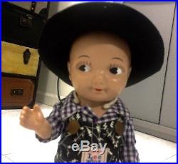 Supreme Japan limited Buddy Lee X Yuge Cowboy Vintage Advertising Doll
