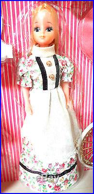Takara Pico chan, vintage Licca mini doll, 70s Japan Topper Dawn, rare gift set