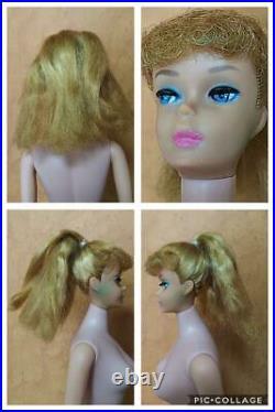 Used Doll Figure Barbie Blonde Ponytail Vintage Made in Japan