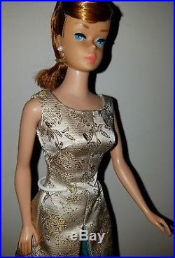 VHTF STUNNING Vintage Titan Redhead Swirl Ponytail Barbie 1964 Nude Mattel Japan