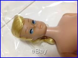 VINTAGE 1960s MATTEL Swirl Ponytail Hair Barbie Doll Made in JAPAN