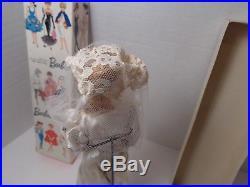 VINTAGE 1962 BARBIE BRIDAL MIDGE WithSTOCK 850 BOX-ASH BLONDE-PONYTAIL-JAPAN
