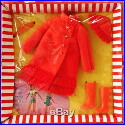 VINTAGE 1969 JAPANESE BARBIE DOLL STACEY Outfit NRFB JAPAN FIERY FELT